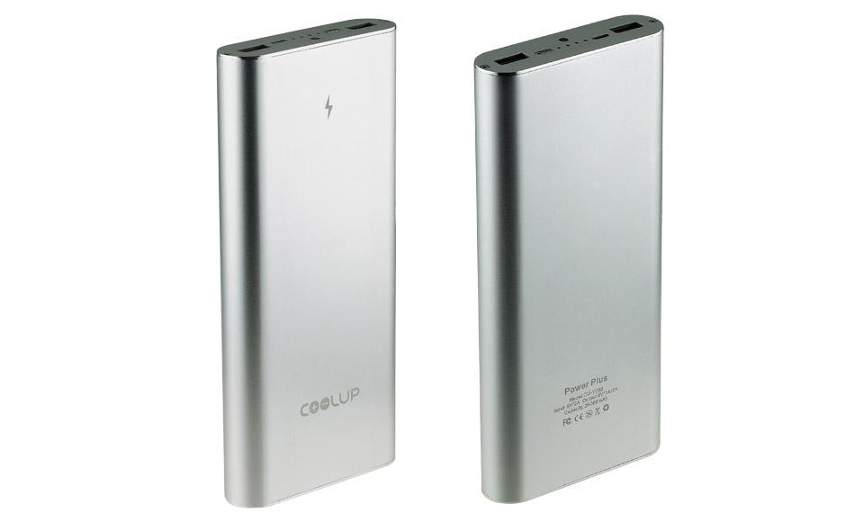 Power Bank da 20000mAh,POTENTISSIMO! Alluminio - DUAL USB - batteria esterna