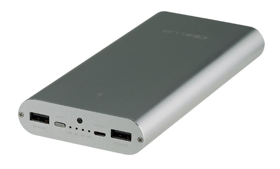 power bank 20000 DUAL USB QUICK CHARGE batteria portatile